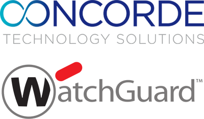 The Concorde Technology Logo above the official Watch Guard Logo.